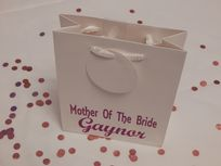 Mother Of The Bride Personalised Gift Bag
